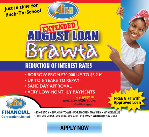 Have A Small Business 3 Places To Get A Loan: AIM Financial Corporation Jamaica